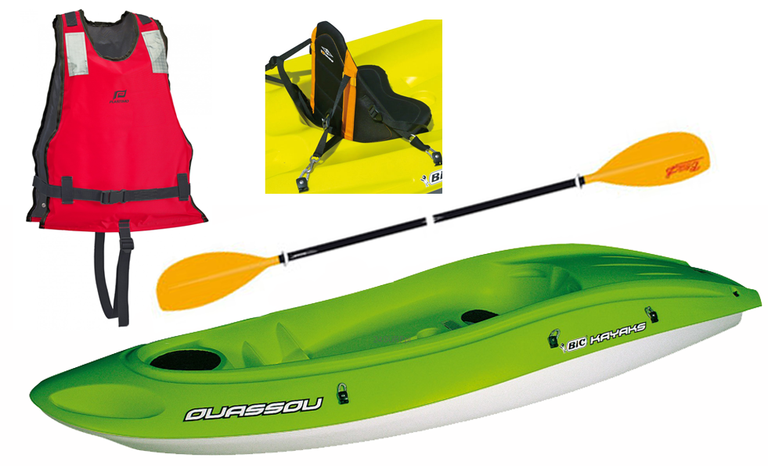 kayak canoe bic