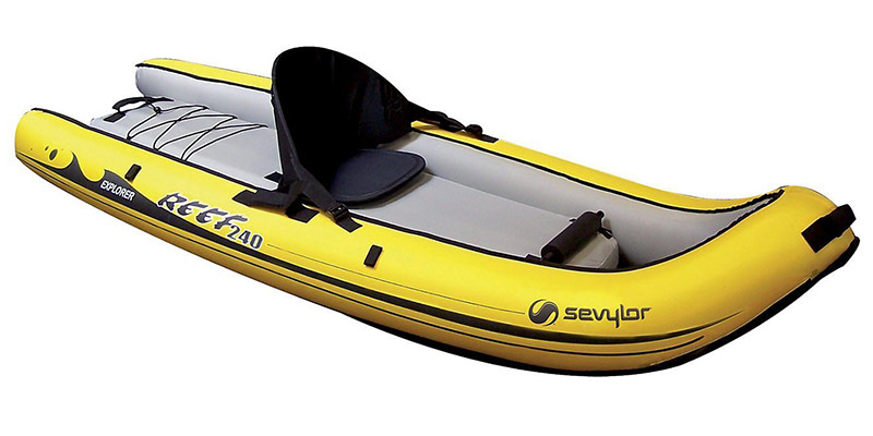 kayak gonflable 1 place